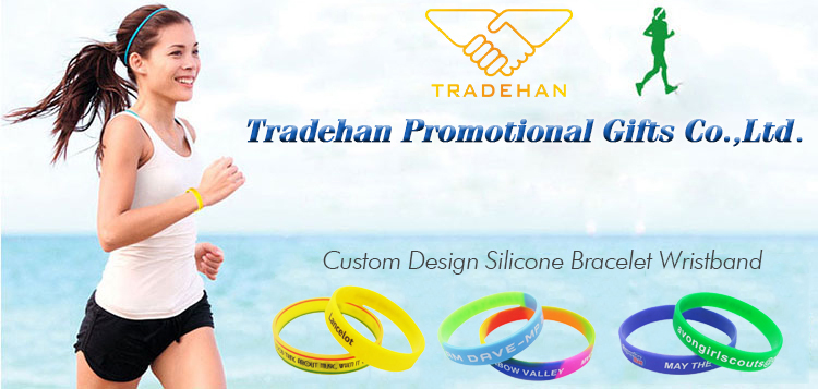 low price custom design rubber band silicone wristband china supplier