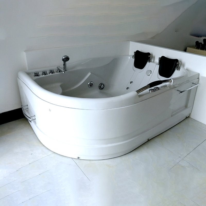 Top Selling Personalized Two Persons Hot Tub Luxury Whirlpool Massage Bathtub
