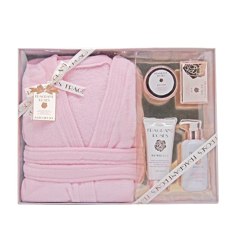 Индивидуальный банный халат и работает гель для душа лосьон для тела подарочный набор для женщин