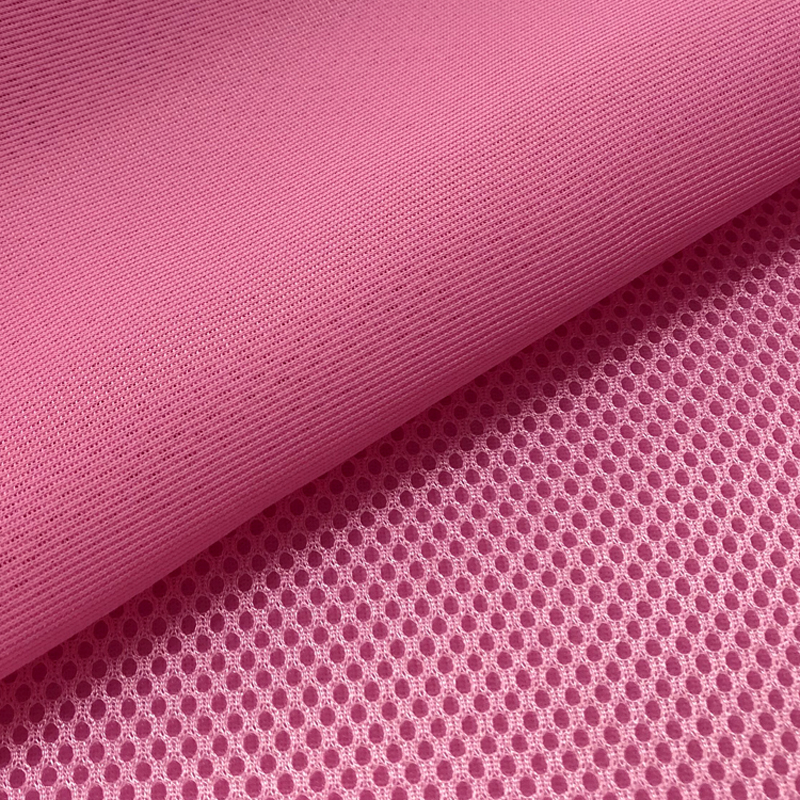 3D Air Spacer Sandwich PET Hygrolon Heavy Seat Cover Soft Thick Breathable Sport Wear 155CM Wide 230g/M2 3mm Thick Mesh Fabric