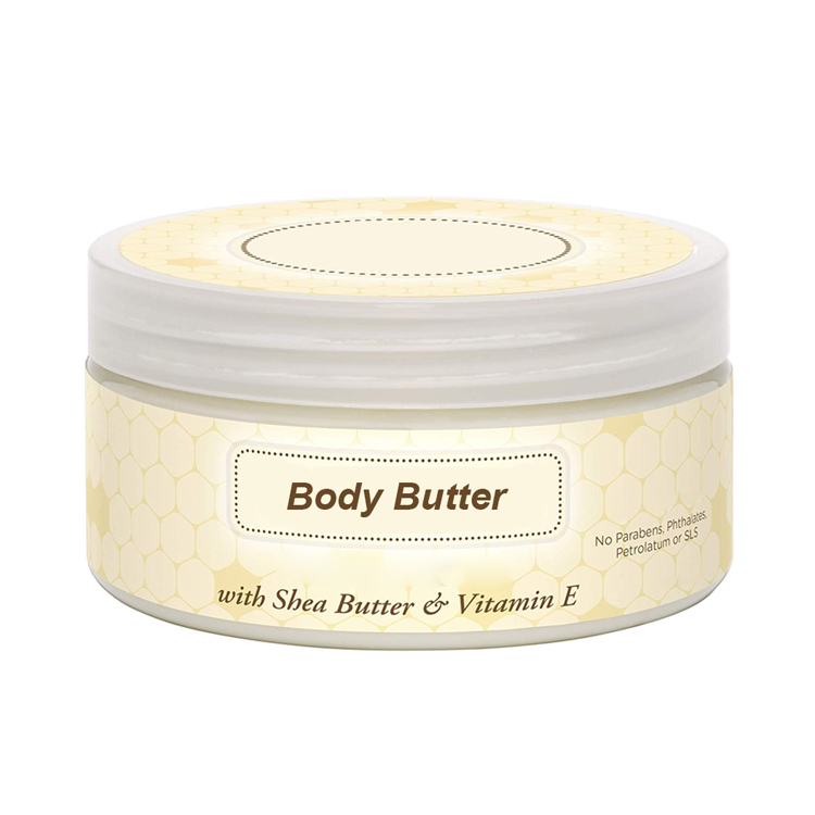Softens and smooths skin cocoa shea jojoba body butter private label body butter cream