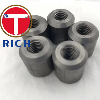 TORICH 32mm Carbon Steel 1045 Screw Connecting Rebar Tapered Thread Rebar Coupler