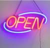Barber shop led open sign neon flex open light signage bar led open closed sign