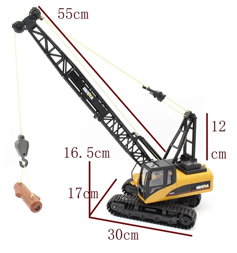 Huina 1572 1:14 15CH rc crane truck Radio Control toys