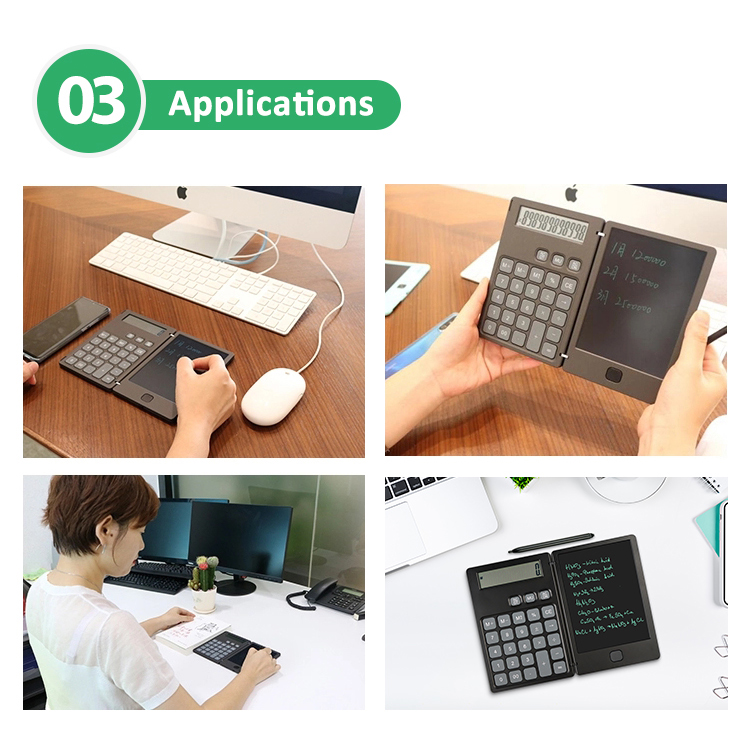 Wholesale Kids Erasable Paperless Digital Writing Pad Calculator Drawing Tablet