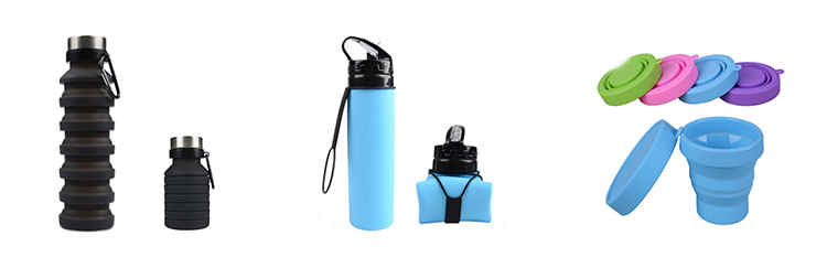 High Quality Reusable Silicone Portable Insulated Bamboo Coffee Travel Mug With Lid