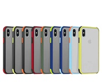 Shockproof Full camera protection Bumper Slim Matte Soft Cases For iphone 11 Pro Max XR XS 7 8 6 Plus phone casing
