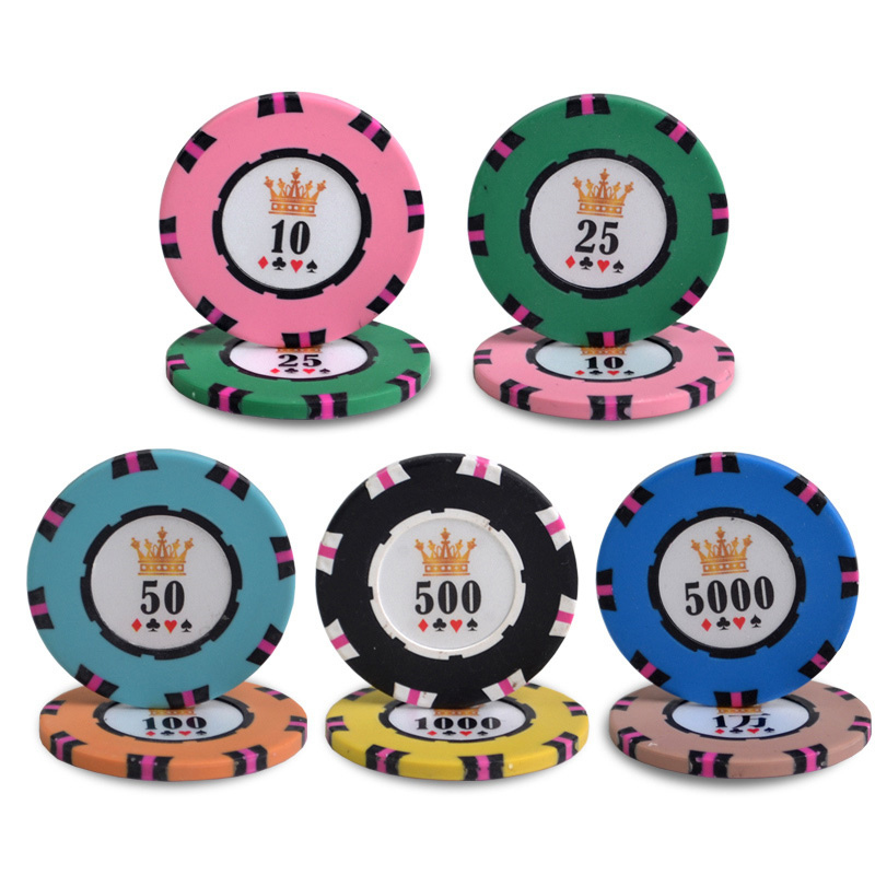 Factory manufacturing professional ultimat cheap casino 500 poker chip set 1000pcs blank monte carlo 14g clay custom poker chips