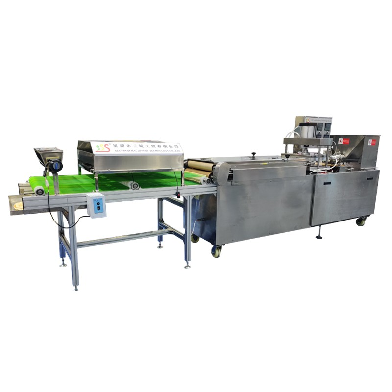 Industrial <strong>corn</strong> Flour Tortilla lavash production line for sale