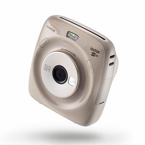 Digital camera fujifilm polaroid camera square SQ20 camera with selfie mirror-beige color