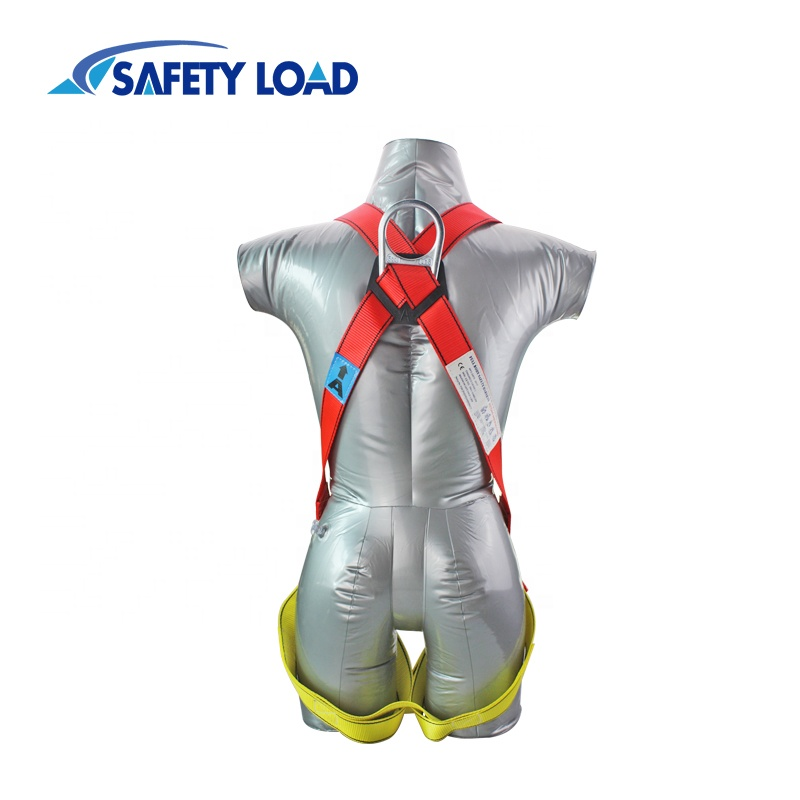 Top Quality Adjustable Full Body Safety Harness with Lanyarn