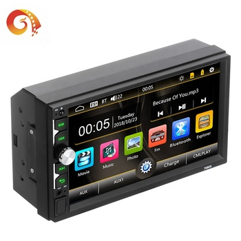 Entertainment System Multimedia Screen Radio Mp5 Player 1 Din Dvd Player Audio For Car