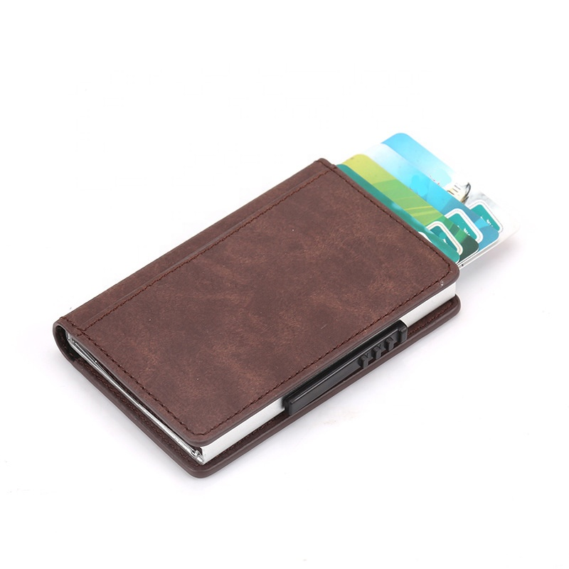 <strong>buy</strong> a card holder RFID multiple leather card holder <strong>wallet</strong> for gift