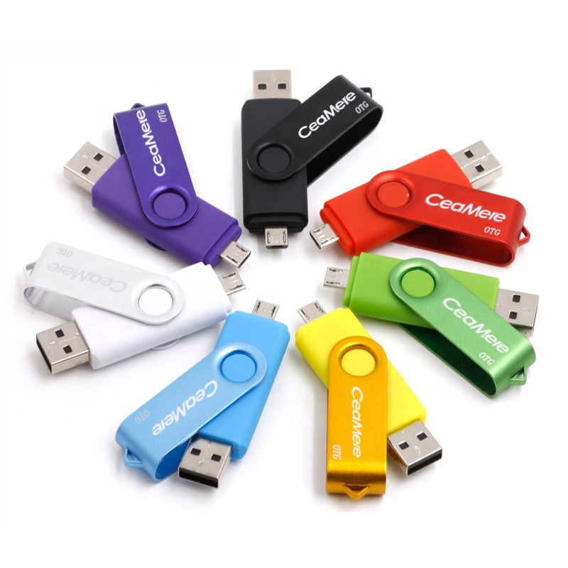 Ceamere CMC5 <strong>OTG</strong> <strong>USB</strong> <strong>Flash</strong> <strong>Drive</strong> 128GB 64GB 32GB 16GB 8GB 4GB Metal Swivel Pen <strong>Drive</strong> Smartphone Pendrive <strong>OTG</strong> 2.0 <strong>USB</strong> <strong>Flash</strong> <strong>Drive</strong>