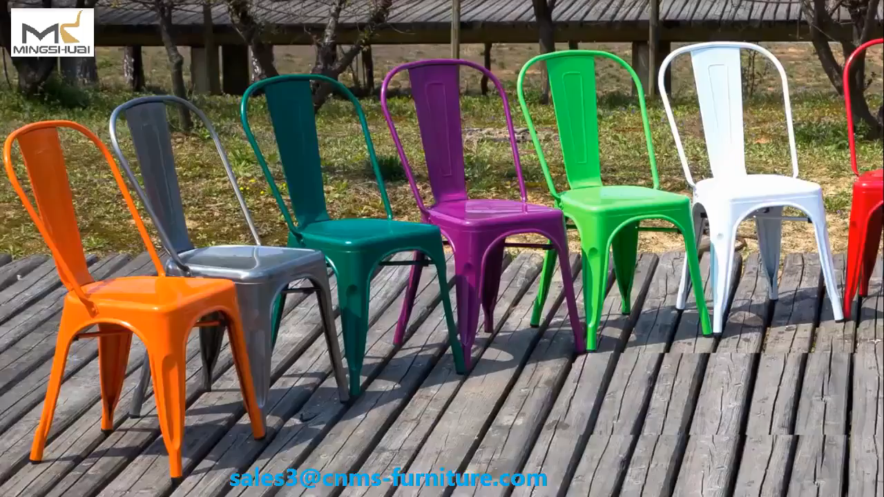 เก้าอี้บาร์เหล็กโบราณแบบวางซ้อนกันได้,เก้าอี้โต๊ะร้านอาหารม้านั่งเคาน์เตอร์โลหะเก้าอี้สูงในครัวเก้าอี้สูงแบบผับ