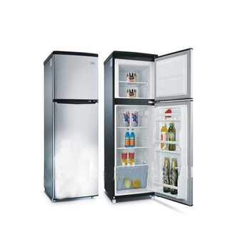 two door mini fridge 135l