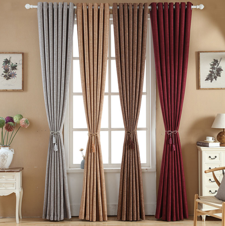 Hamp drapes and curtains design window living room curtain set