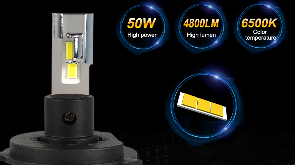 2020 wholesale car accessories HOT SALE cars automatic nearly 9600LM 100W led headlight kit bulbs h4 h7 led
