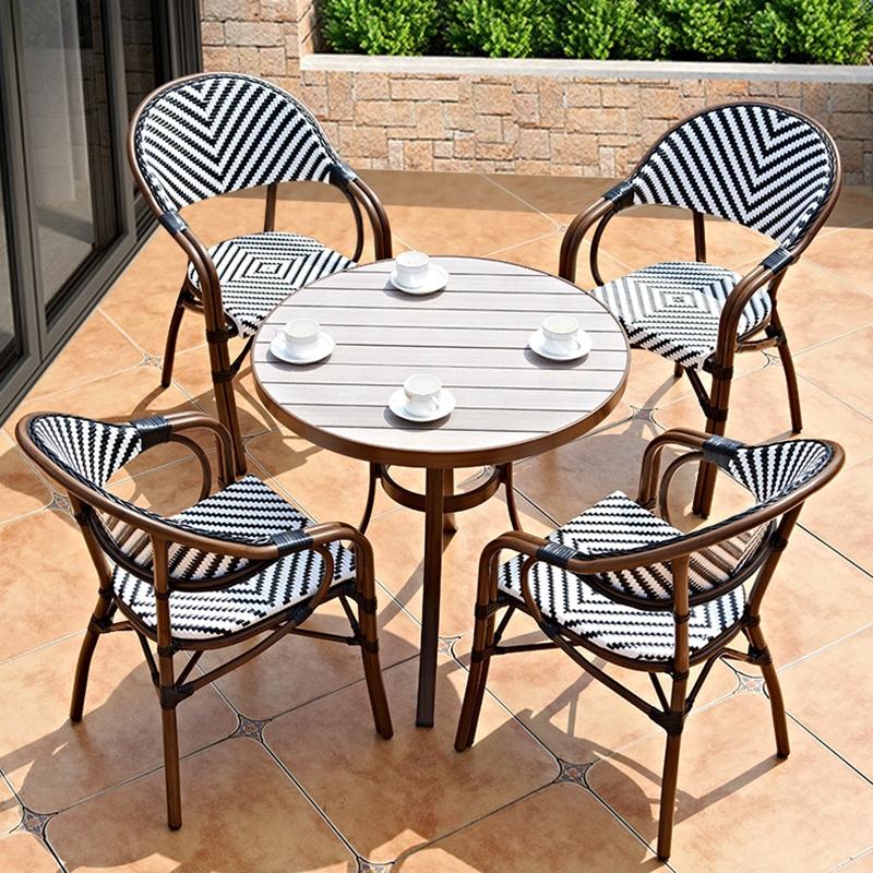 (SP-OC367) французские садовые стулья для ресторанов, уличная мебель для кафе, стулья из ротанга для бистро