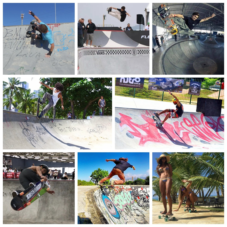 Digitaldruck benutzerdefinierte grafik niedrigen 10 MOQ maple skate board deck