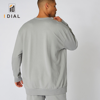 Wholesale custom high quality gray hoodies man with your own design and logo hoodie