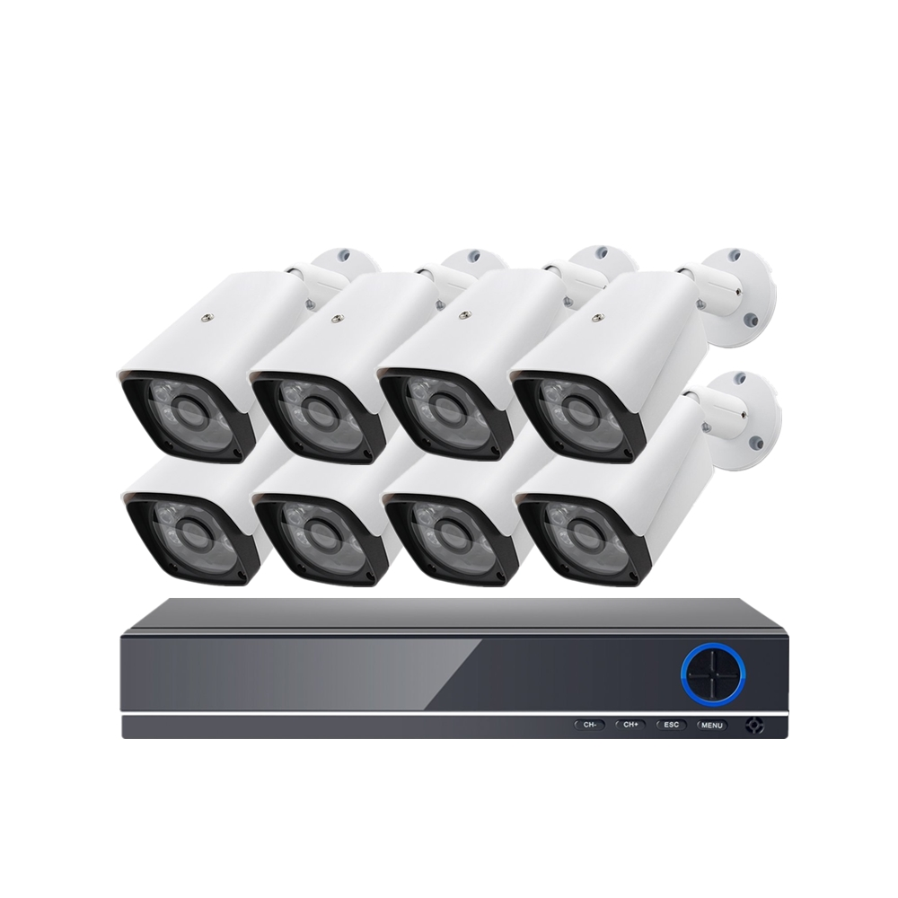 Sumond CCTV <strong>DVR</strong> 8CH 5MP Security System HD CCTV Camera System Set Bullet Camera 8CH AHD <strong>DVR</strong> Kit