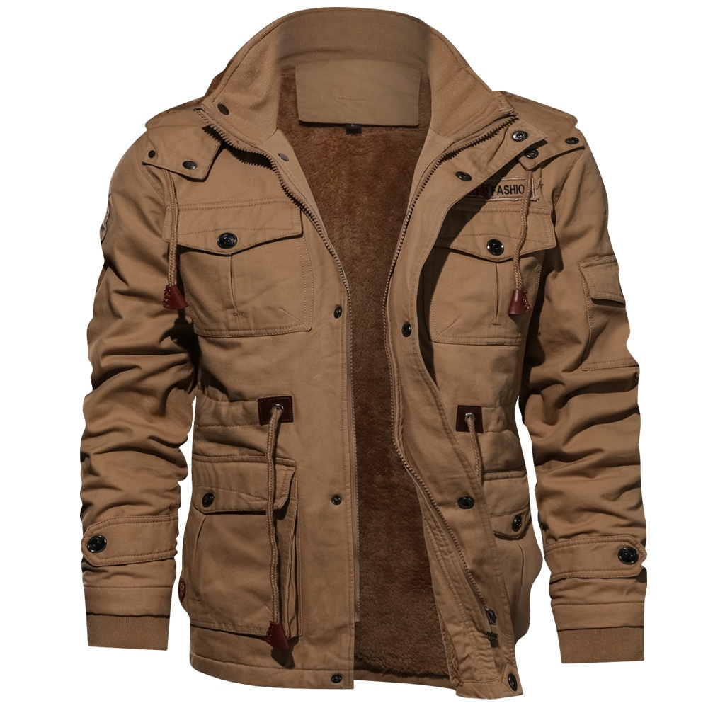 2020 High Quality Military <strong>Mens</strong> Pilot <strong>Jacket</strong> <strong>Winter</strong> Fleece <strong>Jackets</strong> Warm Thicken Outerwear Plus Size <strong>Jacket</strong>