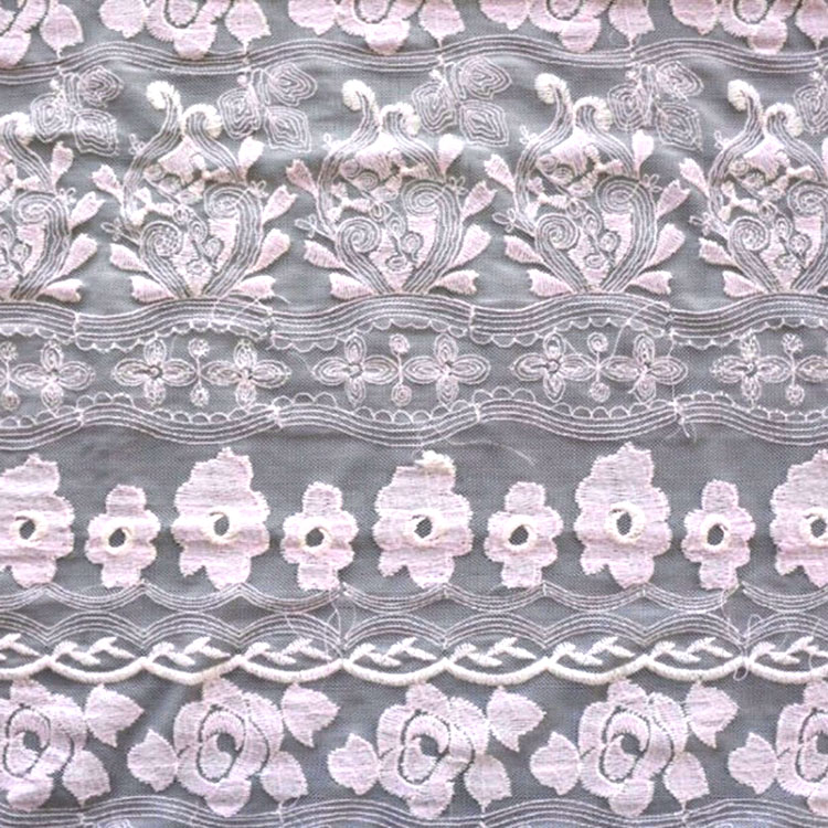 New fashion beautiful mesh 3d embroidery fabric for wedding dress