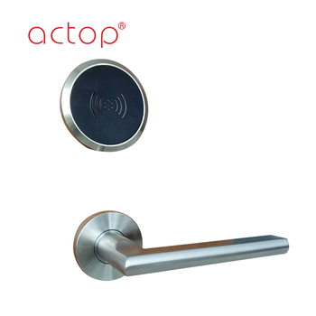 High quality new stain steel key card bluetooth reader plastic hotel lock passwords hotel door lock