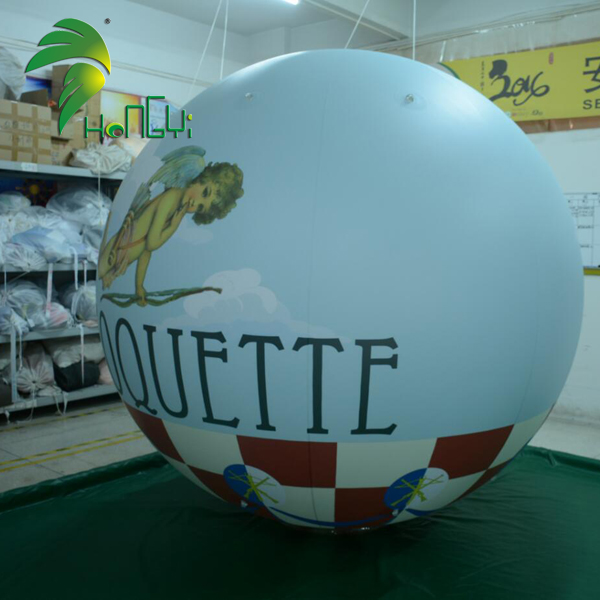 Funny Promotional Display Light Vinyl Helium Balloon With Full Printing