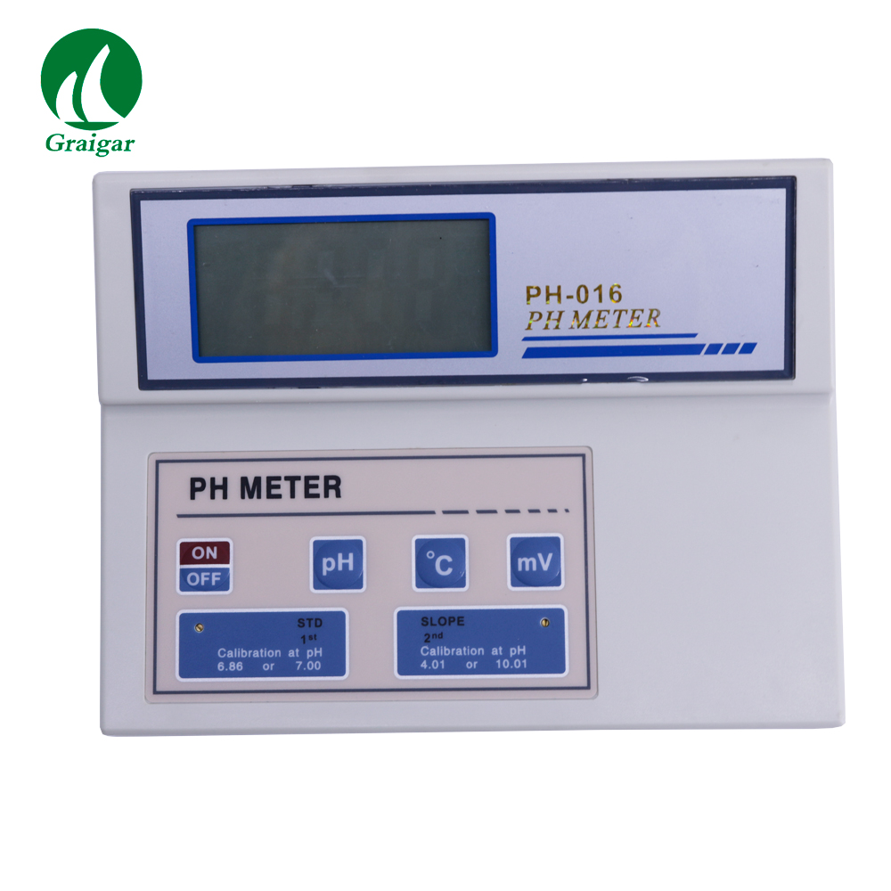 PH-016 Bench pH/mV/Temperature Meter Acidity and Basicity Tester