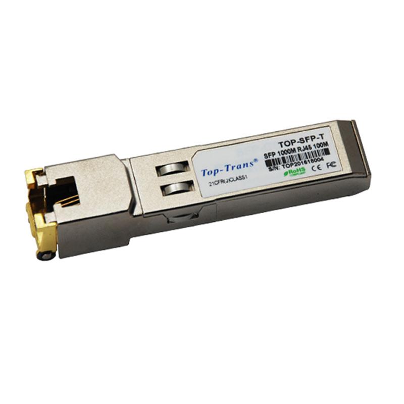 תואם ZTE GBIC-GE-RJ45 1000base-T 1000 בסיס RJ45 חשמלי ethernet נחושת SFP משדר