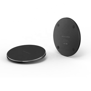NEW 2019 10W QI Automatic Wireless Charger Pad High Quality Fast Wireless Charger