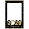 New Product 2020 Happy New Year Photo Booth Props New Year's Eve 2020 Paper Photo Frame Supplies