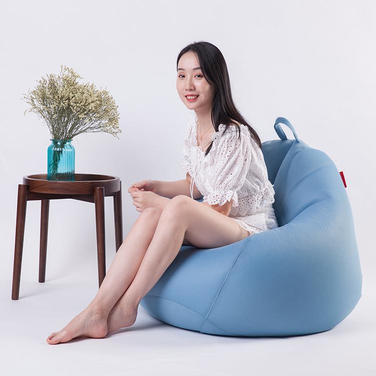 กลางแจ้งในร่มสะดวกสบายฝาครอบขนาดใหญ่ Bean BAG เก้าอี้ Big