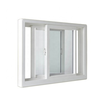 plastic/upvc window frame sliding windows