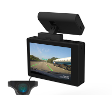 "Hot 3.0 ""Layar OLED Dual Dash Cam Wifi DVR GPS Mobil Perekam Video"