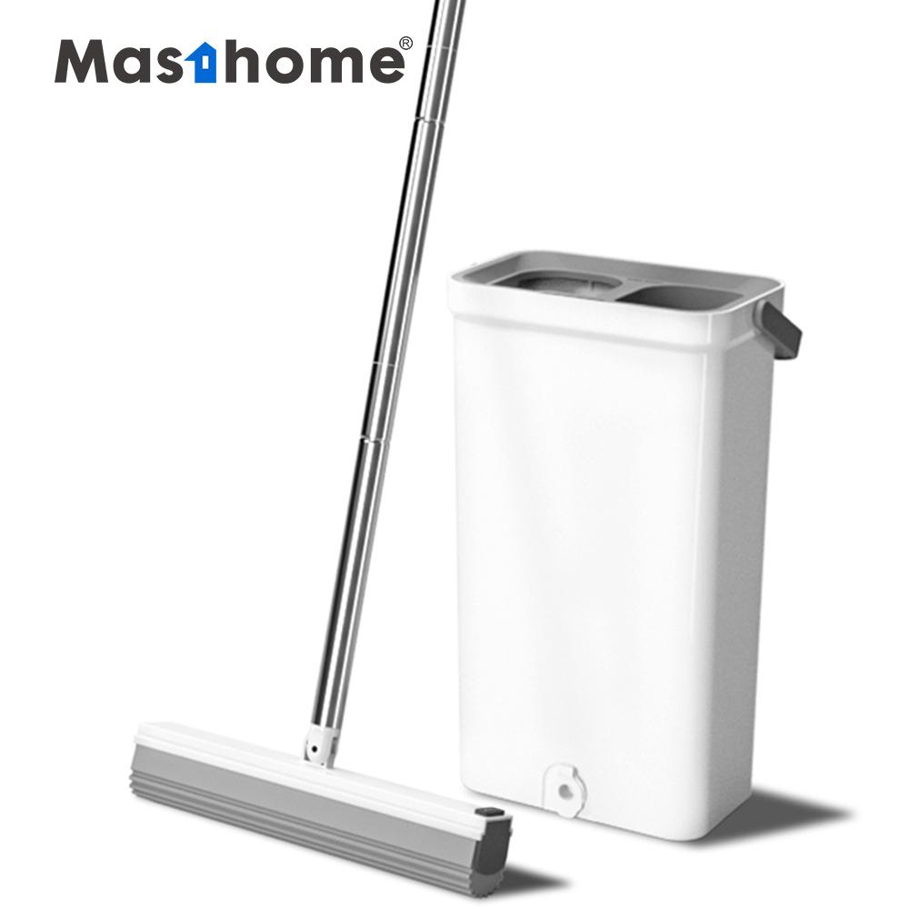 Masthome Mão Livre best selling úmido e seco esponja pva mop pva esfregão e balde definir piso limpeza fácil com balde