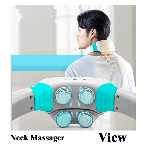Electric Massager Electric Wireless Charging Massage Stick,Body Wand Massager