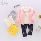 Factory high quality spring baby fashion clothes set
