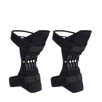 2019 Customized Adjustable Joint Support Spring Force Tool power knee pads