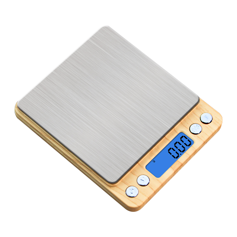 View larger image 2020 Ultra Slim Rectangle 3Kg 0.01g Vegetable Digital Eletronic Kitchen Scale 2020 Ultra Slim Rectangle