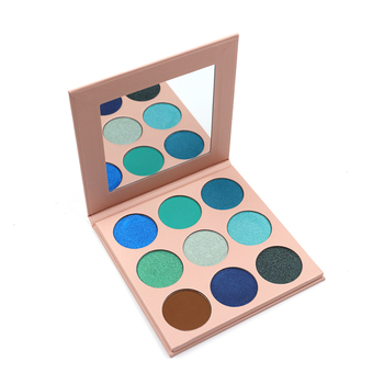 Free Sample Custom Any Color glitter Eyeshadow Makeup Palette Long Lasting And Waterproof Nude Eye Shadow