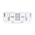 ASIA MARKET GOOD SALES 8 SHAPED LED ALARM CLOCK ET524S