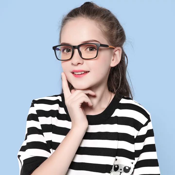 2021 new arrival adolescent eyeglasses frames kids computer gaming glasses anti blue light blocking glasses for kids 2020