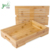Classic Gift Bamboo Tea Table Serving Tray