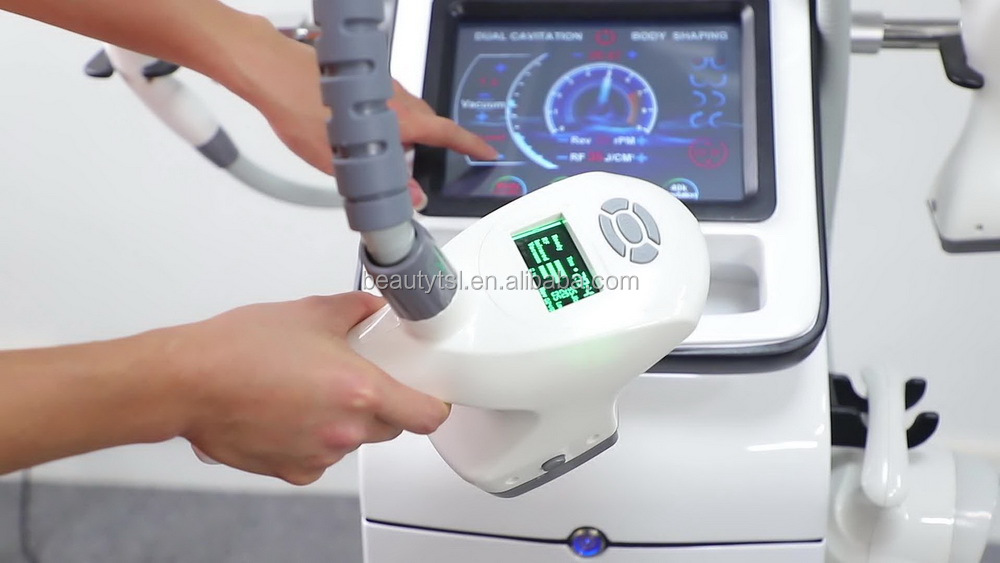 LINGMEI Weight Loss Slimming Body Machine Cavitation and rf lifting vacuum cellulite massager system