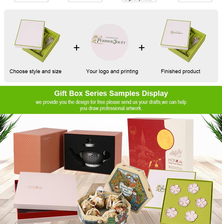 थोक कस्टम मुद्रित पैकेजिंग कुकी चॉकलेट खिलौना शादी का निमंत्रण कागज उपहार बॉक्स