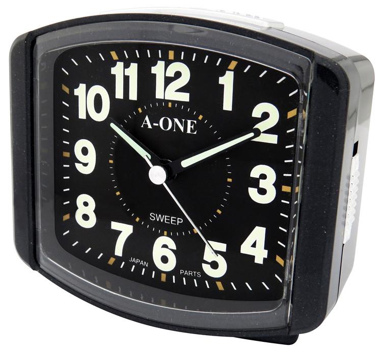 Home  Decoration Factory Supplier Snooze Light Luminous Table  Alarm  Clock Timepiece Quartz