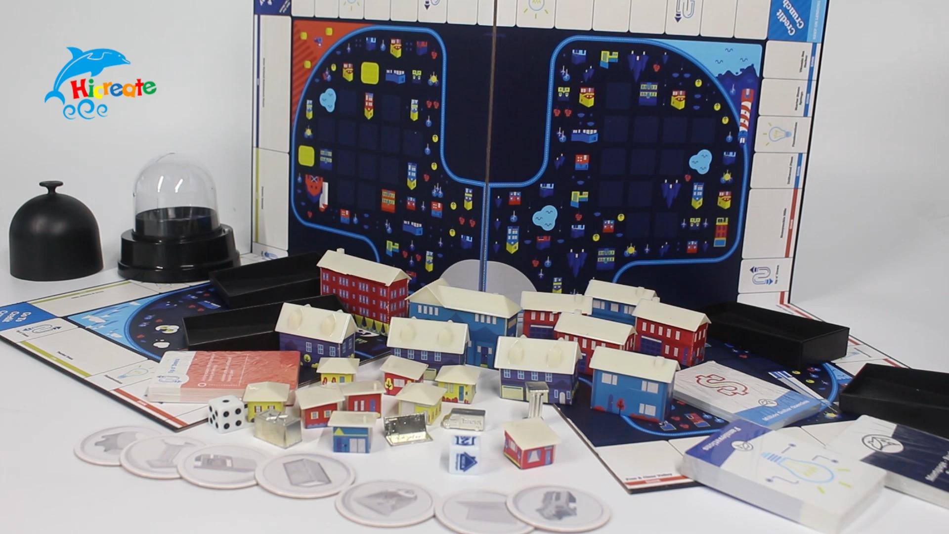 Plateau de jeu personnalisé   Plateau de haute qualité, vie de jeu de luxe, jouets plateau de jeu